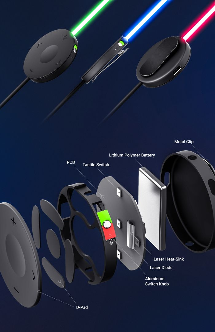 Glow: The First Smart Headphones with Laser Light by Glow, LLC — Kickstarter