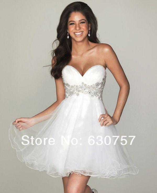 Белый homecoming платья милая кружева белый homecoming платья полуформальный многоуровневое кружева короткие белые homecoming платье