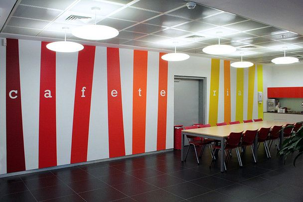 Vinyl Wall Graphics Cafeteria Google Search Design On
