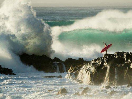 .: Surfing, Surf Crashing, Surfer, Waves, Sea, Beach, Photo, Snowboards