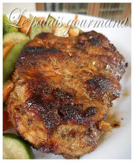 Le palais gourmand: Poitrines de poulet grillées miel et ail