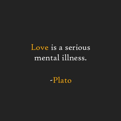 Plato, quotes, love, mental illness