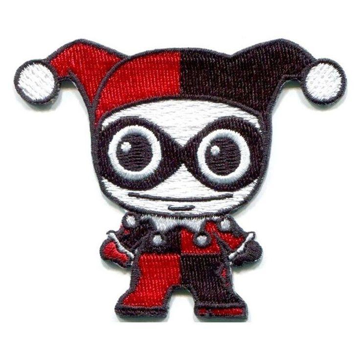 1pcs Comics Batman Clown Sewing Embroidery Applique Apparel Jacket DIY Badge