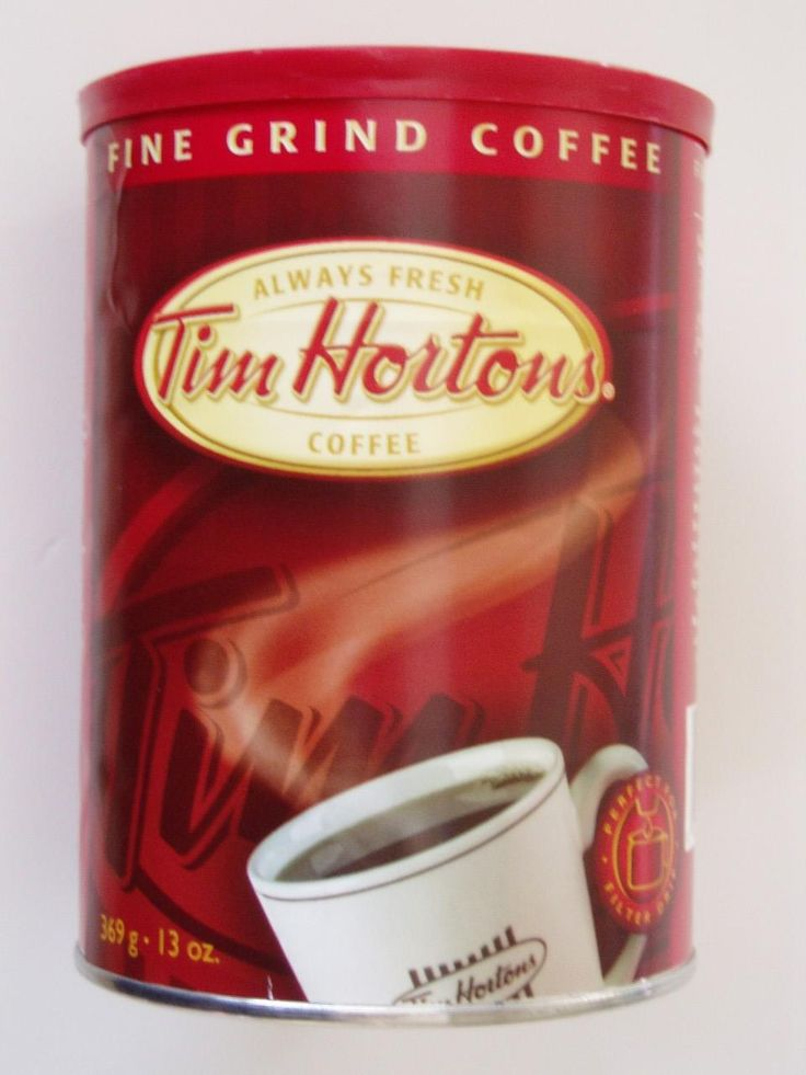 Pack a small tin of coffee from Tim Hortons. Mamas gonna need the good stuff!