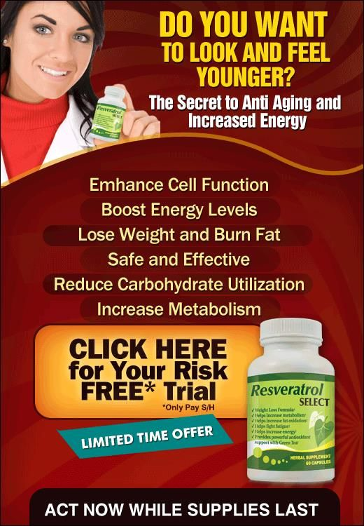 Resveratrol has been featured on a number media outlets including 60 Minutes, and the Discover Channel. Resveratrol Select has taken that one step further by combining the cell protective benefits of Resveratrol with our own proprietary blend to help you Enhance Cell Function, Boost Energy Leves, Lose Weight, Burn Fat and Increase your metabolism.