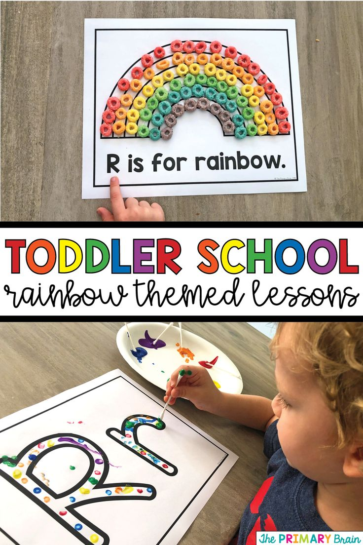 Toddler Lesson Plans – Rainbow Themed Lessons