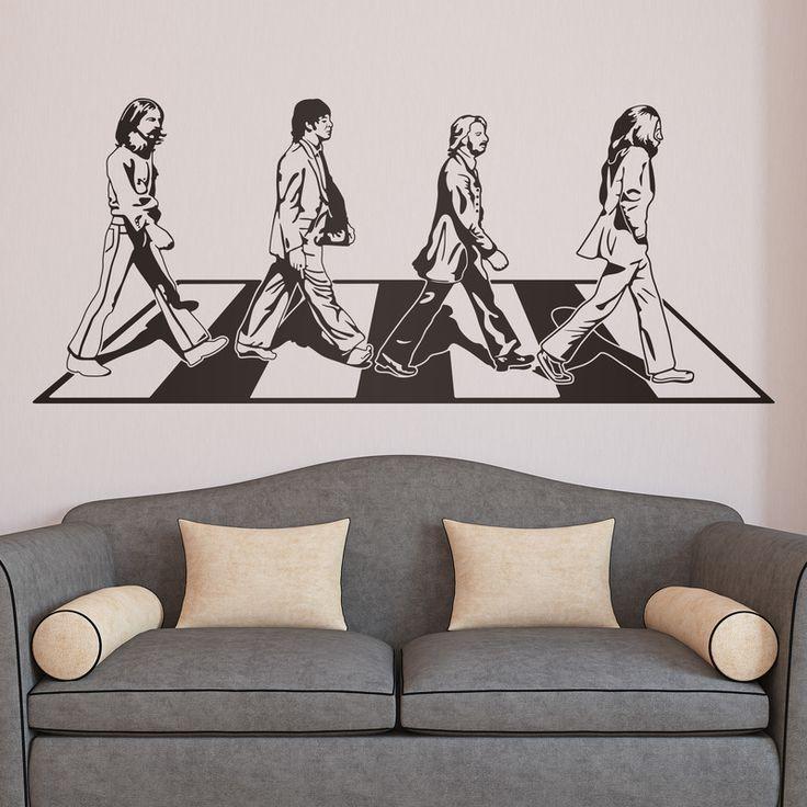 Vinilos Decorativos: Abbey Road #academia #ingles #abbey #road #beatles #Londres #vinilo #pared #decoracion #TeleAdhesivo