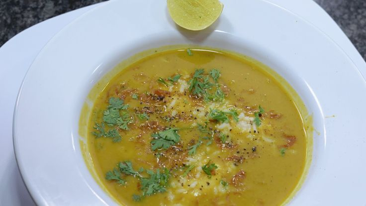Indian Soup Mulligatawny - By Vahchef @ VahRehVah.com