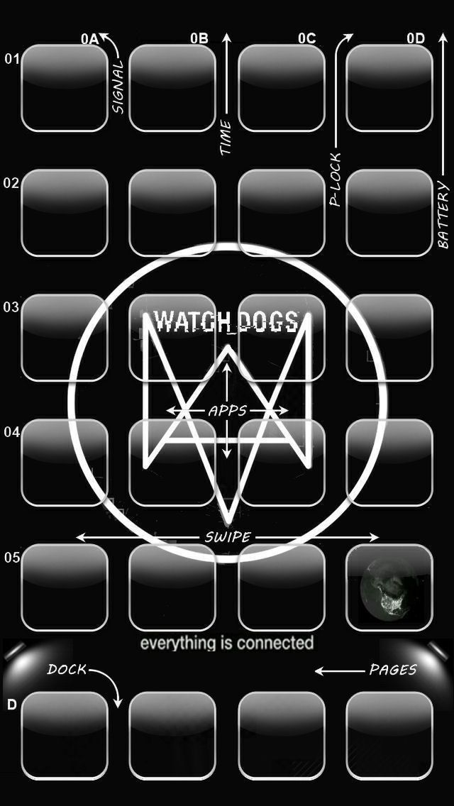 Watchdogs iPhone 5 Wallpaper | Iphone 5/5s Wallpaper ...