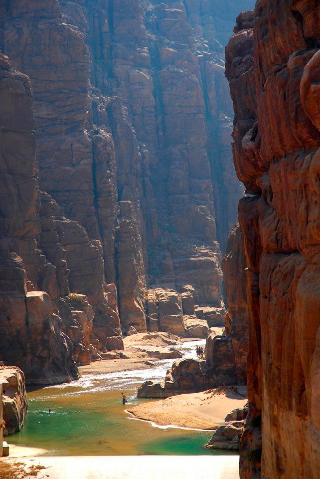 A beautiful spectacle - Wadi Mujib, Jordan Take a tour today and see all the wonders of Jordan