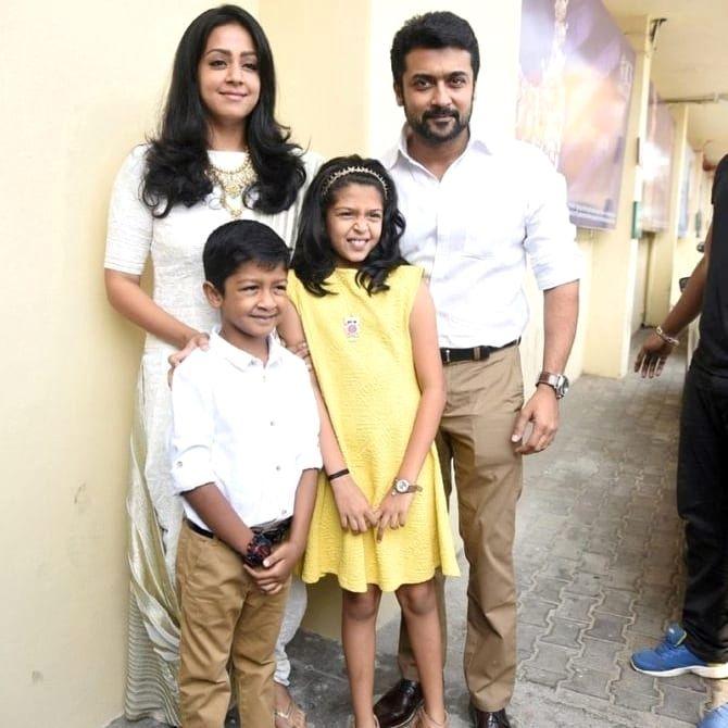 Suriya With Family   Tamilglitz  Surya Actor-1453