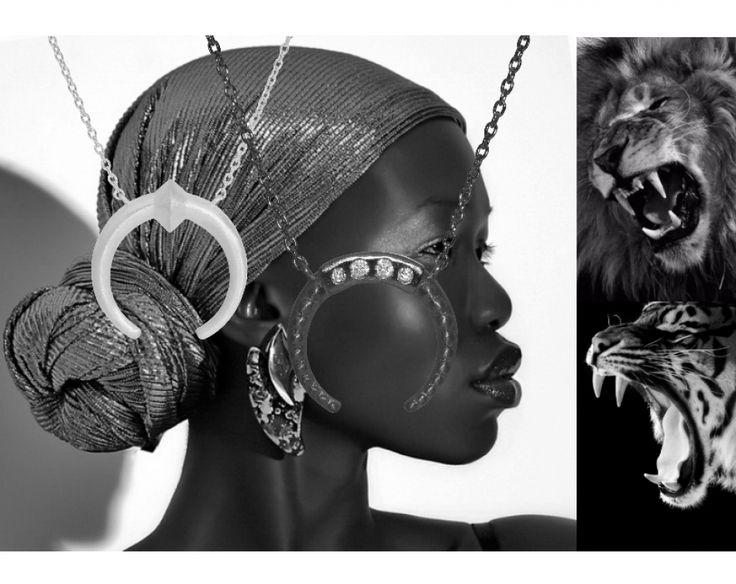 "Embrace your inner warrior with the new edgy ""Saga Tusk Necklace"" and ""Govinda Tusk Necklace"" #hvisktusk  http://hvi.sk/r/6vx7"