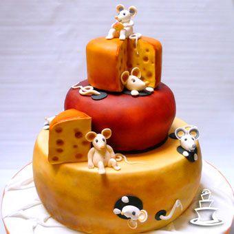 So cute .. .cheese cake ... lol!
