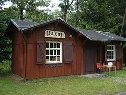 ehemaliger Bahnhof Polenz im Tal der Kleinen Triebisch