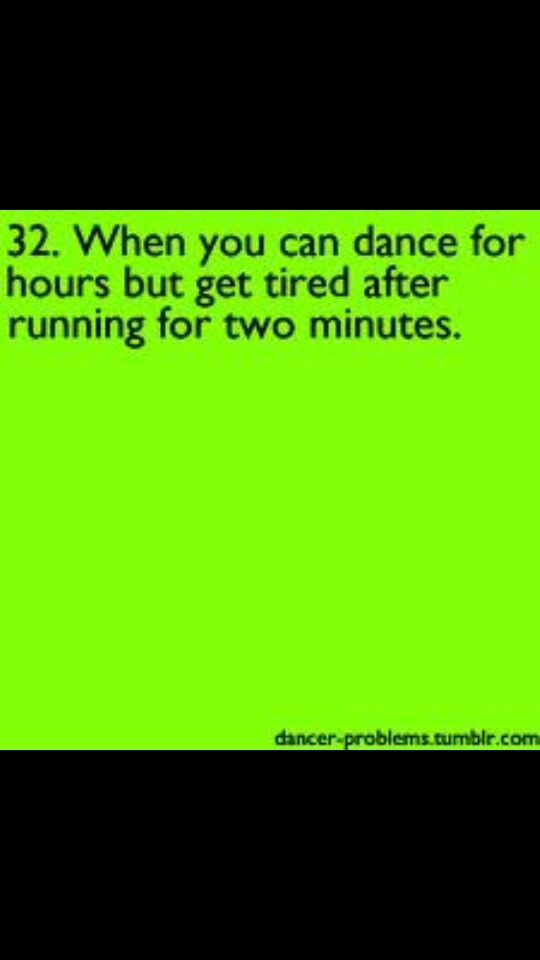 #dancerprobs so true