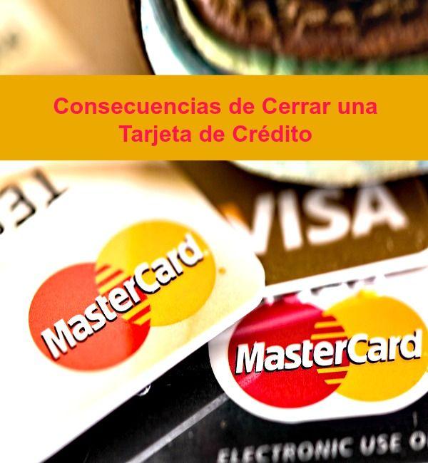 Cerrar una cuenta de tarjeta puede bajar tu puntaje de crédito.