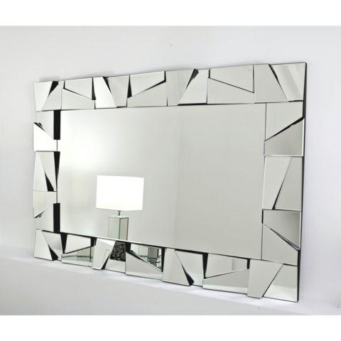 """Cassa Silver Mirror 40"""" x 28"""""""