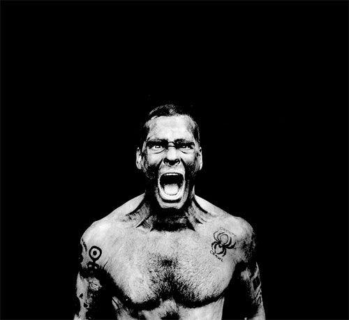 Henry Rollins, by Anton Corbijn