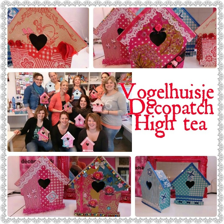 Decopatch feestje incl high tea