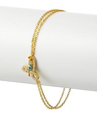 Blee Inara 22K Gold Plated Love Harem Bracelet