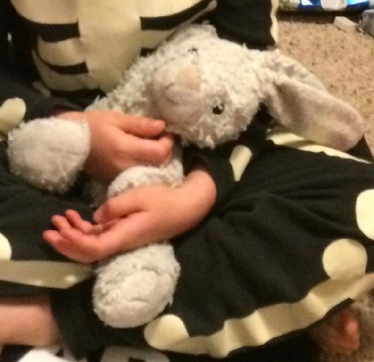 """Lost on 01 Aug. 2016 @ Montana. Grey bunny (originally white), 12"""" long, floppy ears, black stitching for eyes, very well loved (and missed)! We think it fell out of car either at Apgar Visitor Center in Glacier National Park or ... Visit: https://whiteboomerang.com/lostteddy/msg/hjjmqp (Posted by Fleur on 08 Aug. 2016)"""