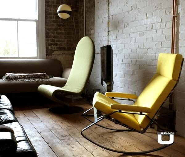 Mid Century Design Chairs And Lamp