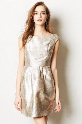 { Perfect Metallic Dress }