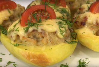 Жульен в картофеле — просто классный и беспроигрышный вариант - be1issimo.ru