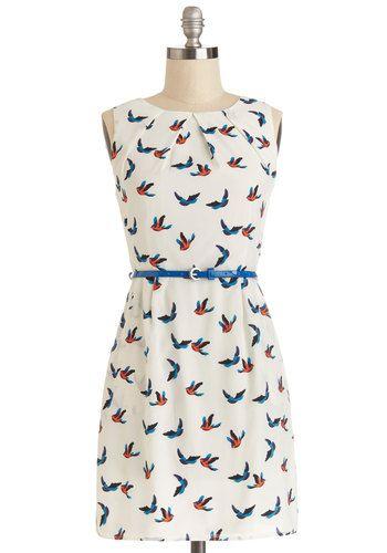 Best Flock Forward Dress, #ModCloth