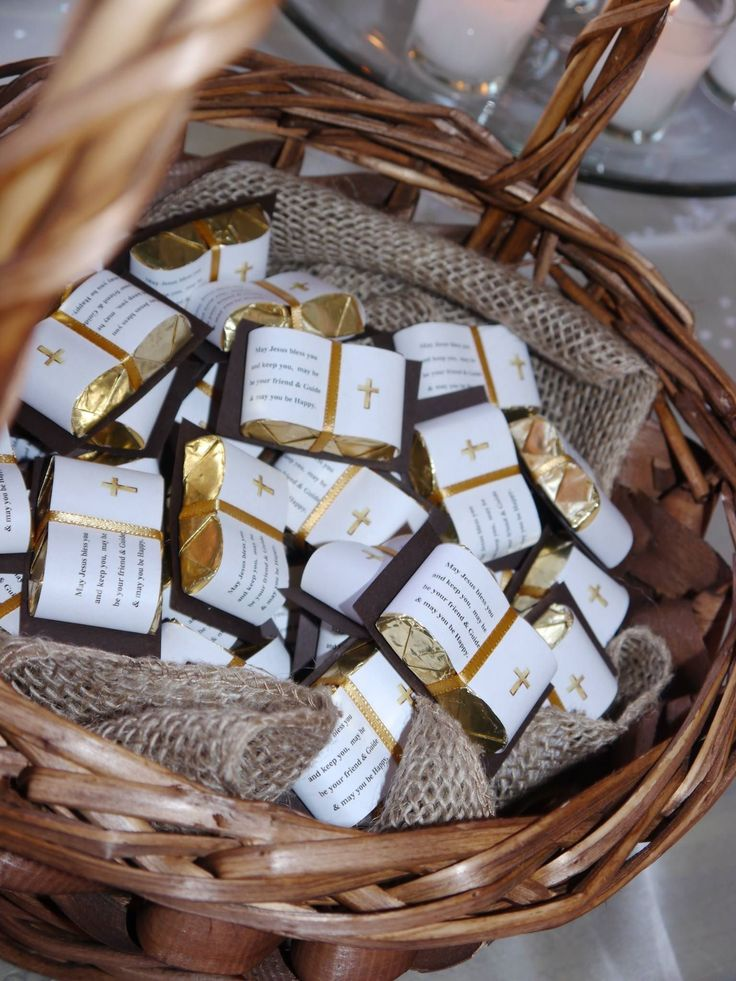 First communion chocolate bible favors. Contact crazy4favors.com