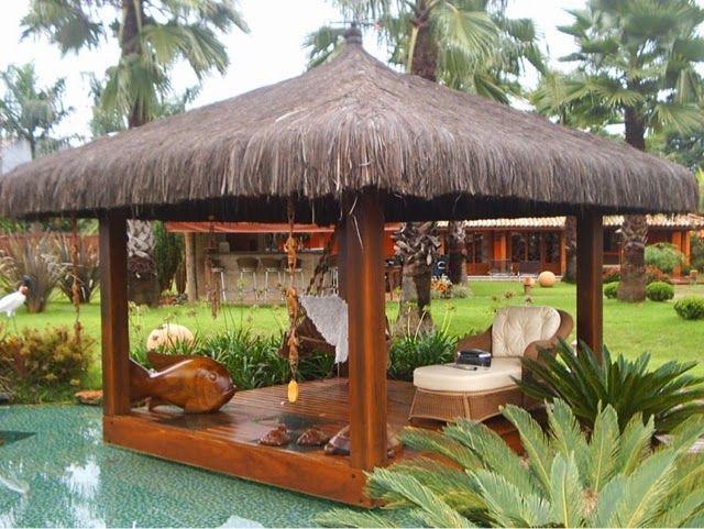 Die 25+ Besten Ideen Zu Gazebo De Madeira Auf Pinterest ... Garten Pavillon Tropische Pflanzen