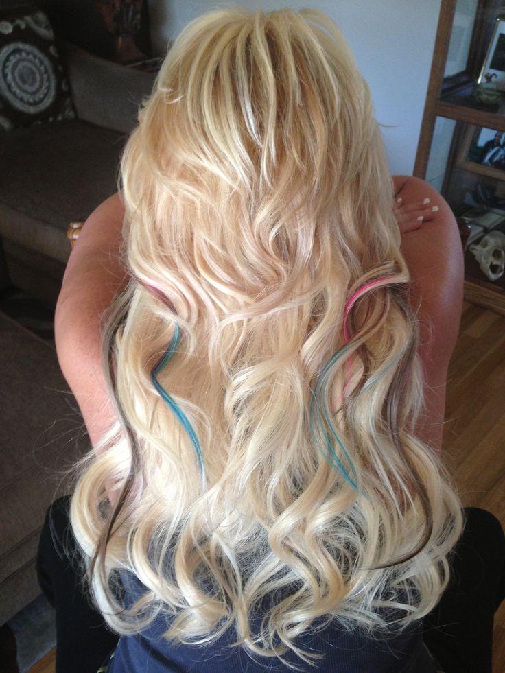 45 best peekaboo highlights images on pinterest braids hair dos blonde extensions with peekaboo highlights solutioingenieria Images