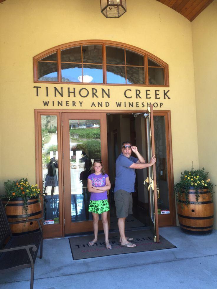 Is Your Kid Wineing? Tinhorn Creek Vineyards.