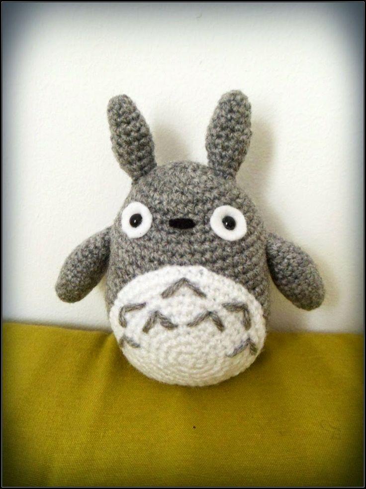 Amigurumi Totoro Patron Espanol : Les 995 meilleures images ? propos de crochet patterns sur ...