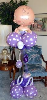 "Balloon Happy AZ: Baby Shower Balloon Decorations - ""It's a Girl!"""