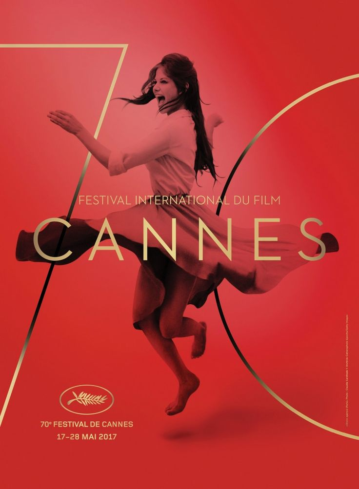 Claudia Cardinale Dances On Poster For 70th Cannes Film Festival
