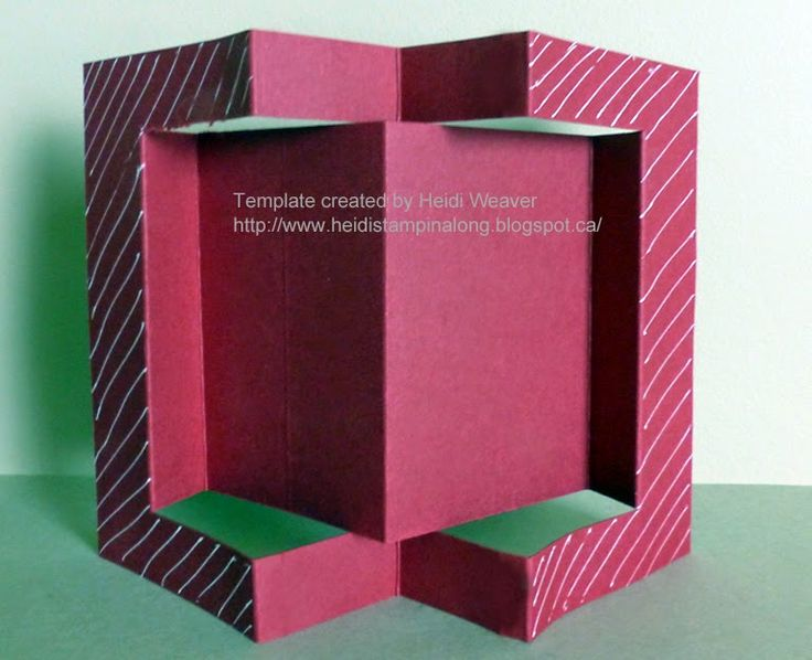 """Stampin Along With Heidi: Tutorial for this """"fun fold card"""""""