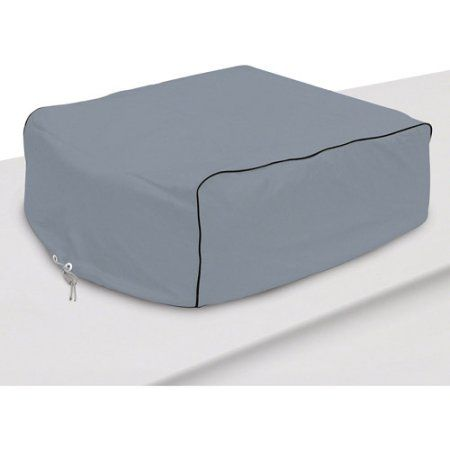 Classic Accessories RV Air Conditioner Cover, Fits Coleman Mach I, II, III, Mach 3 Plus, Mach 15, Roughneck and TSR, Gray
