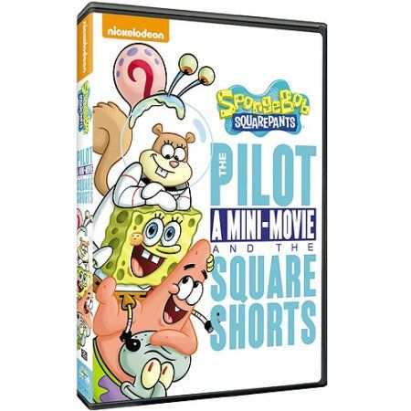 SpongeBob SquarePants: The Pilot, A Mini-Movie And The SquareShorts (Full Frame) - Walmart.com