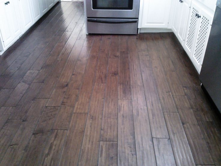 laminate flooring | Laminate floors require very little maintenance, just sweep it and ...
