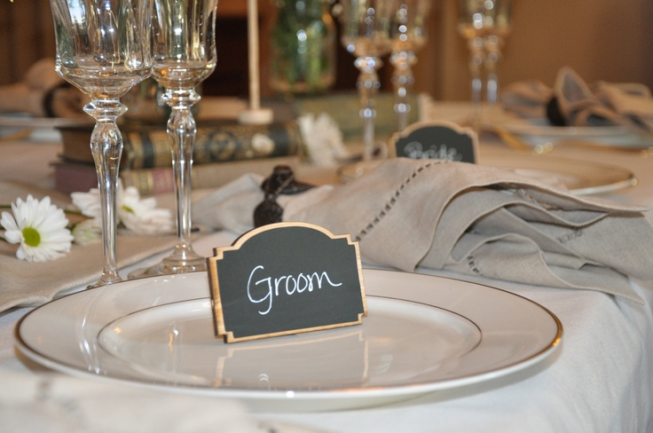 Featured on Etsy Wedding Trends Elegant Wedding Chalkboard Frames KATE design for Place Settings Table Numbers Chalkboards DIY table stand