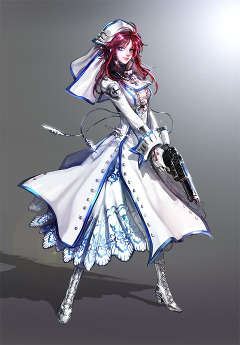 Esther. Trinity Blood