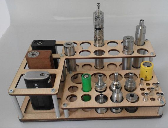 Vape Stand Designs : Vape stand mini titan wood natural minis woods and