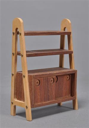 Sallingboe møbler m.m. Div. dukkemøbler bla. stole, borde m.m. (18)