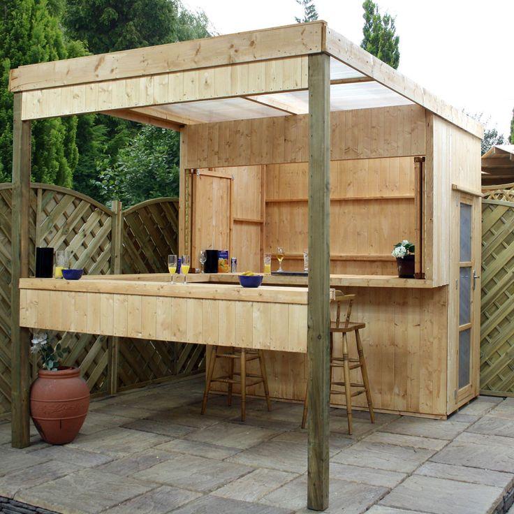 Garden Bar Ideas Uk: Mercia Contemporary Shelter - Outdoor Bar