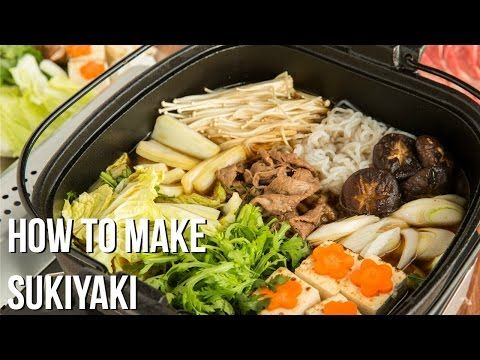 Sukiyaki すき焼き | Hot Pot Recipe | Just One Cookbook - This Video is absolutely amazing!