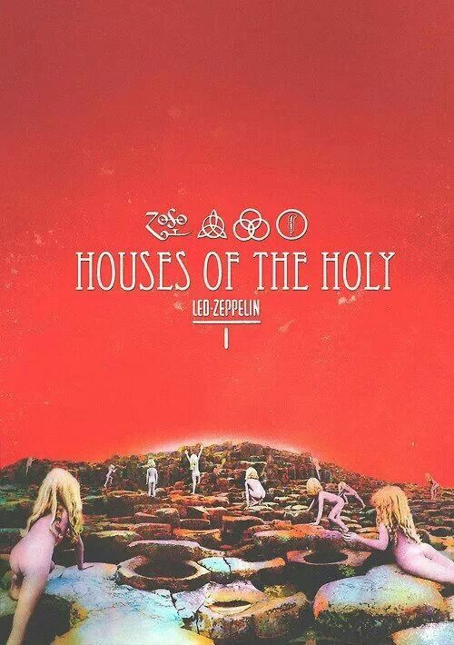 http://custard-pie.com ☮ American Hippie Classic Rock Music Led Zeppelin . . . Houses Of The Holy
