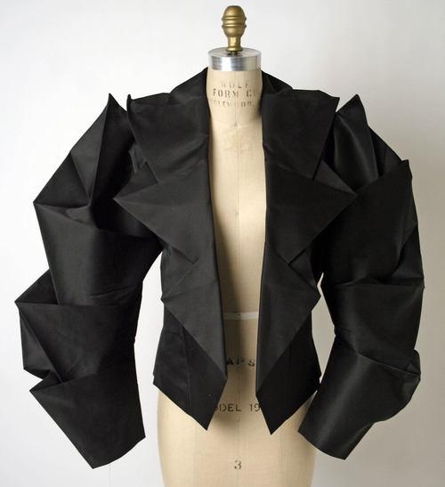 Jacket Issey Miyake (Japanese) ca. spring/ summer 1991 silk