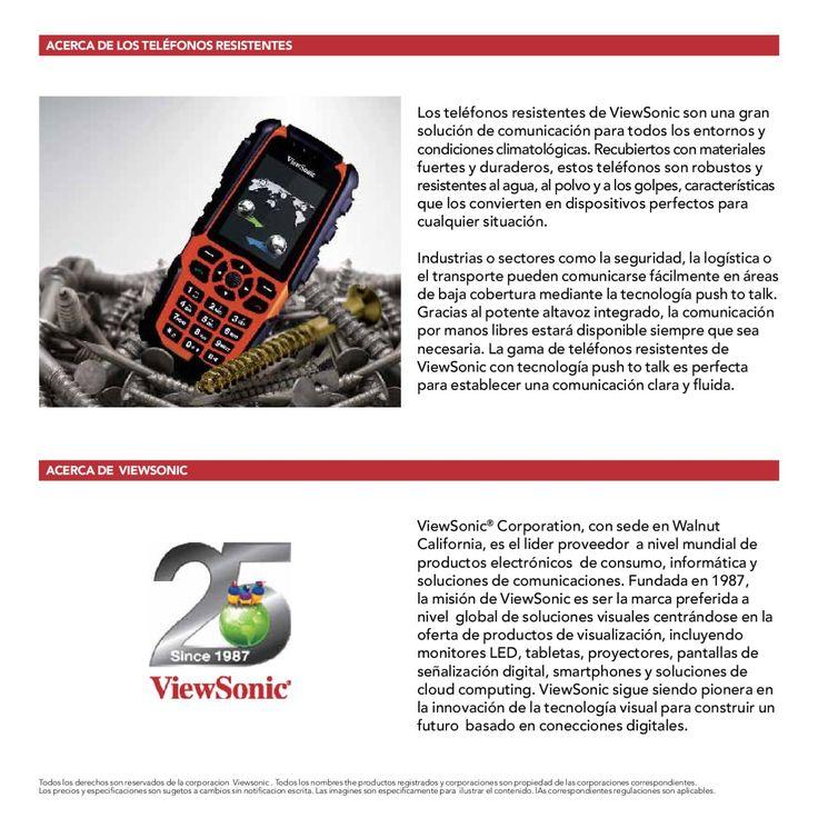 ISSUU - Gama de teléfonos resistentes 2012 by Lina Hayek