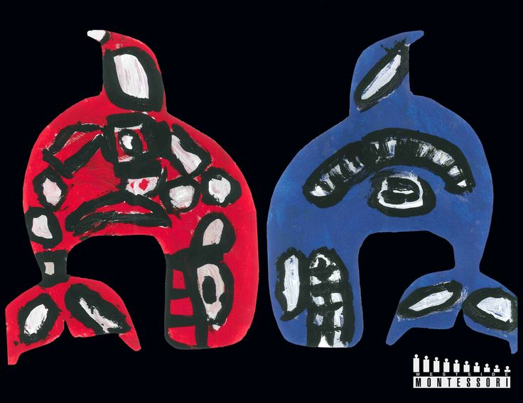 Bill Reid Haida Inspired Art - Orca Whales  (featured in WMS 2013 Calendar)